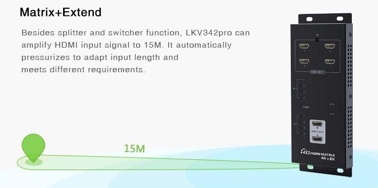 LKV342PRO - Matrix+Extend UHD 4Kx2K